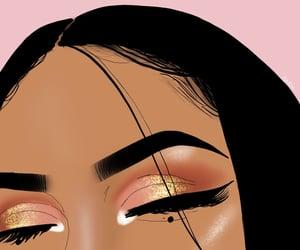 beauty, draw, and glitter image