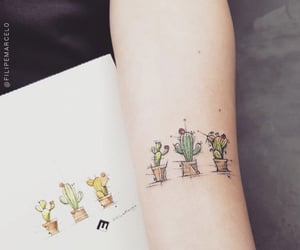 cactus and tattoo image
