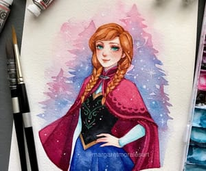 anna, frozen, and illustration image