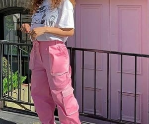 2000s, alternative, and cargo pants image