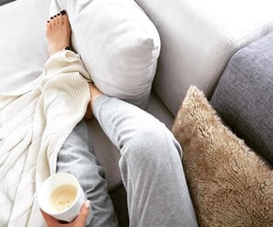 coffee, fashion, and cozy image