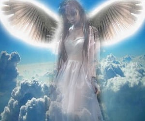 aesthetic, cyber, and angel image