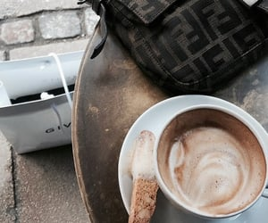 bag, coffee, and cup image