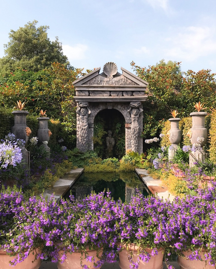 architecture, flowers, and garden image