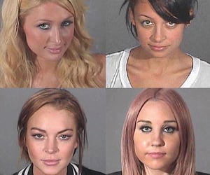 amanda, mugshot, and paris hilton image