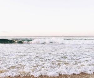 purple, beach, and ocean image