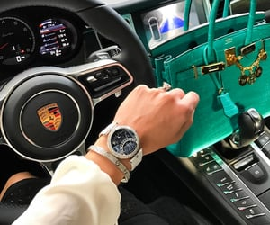 car, hermes, and bag image