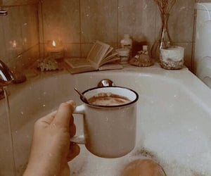 bath, coffee, and relax image