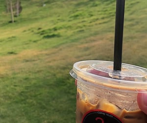 black, coffee, and ice image