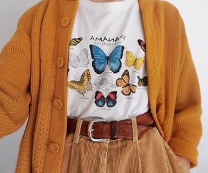outfit, butterfly, and fashion image