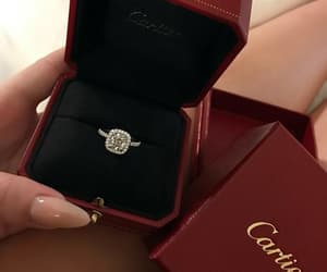 ring, cartier, and luxury image