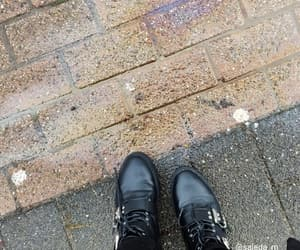 autumn, black boots, and europe image
