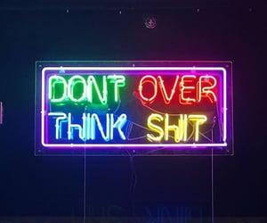 glow, rainbow, and overthink image