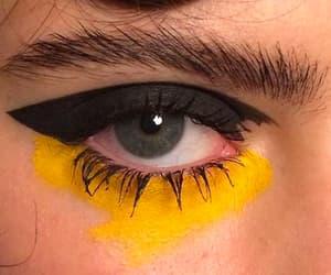aesthetic, make-up, and eyeliner image