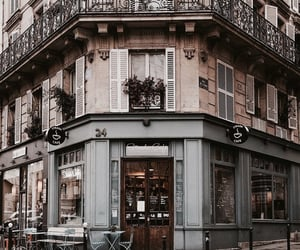 aesthetic, building, and cafe image