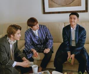 exo, baekhyun, and present gift image