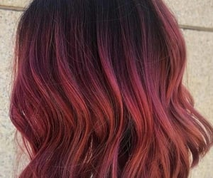aesthetic, plum, and red image