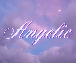 aesthetic, pink, and angelic image