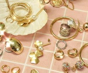 earring, jewel, and jewelry image