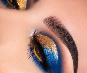 beauty, eyeshadow, and beautyblogger image
