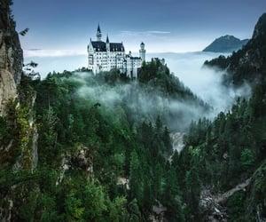 castle, fairy tale, and fog image