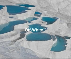 white and offwhite image