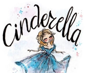 art, cinderella, and disney image