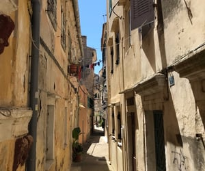 alley, Greece, and city image
