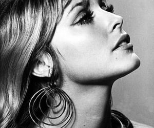 60s, black and white, and sharon tate image
