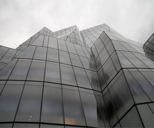 building, grunge, and grey image