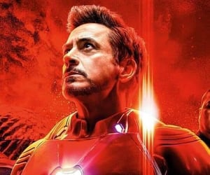 Avengers, infinity war, and iron man image