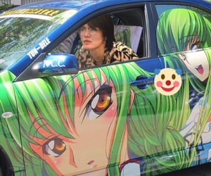 anime and green image