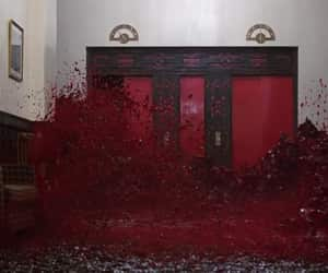 The Shining, blood, and Stanley Kubrick image