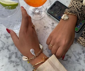 jewelry accessories, summer été look, and outfit clothes chic image