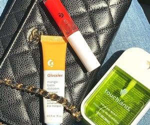 beauty, chanel, and lip gloss image