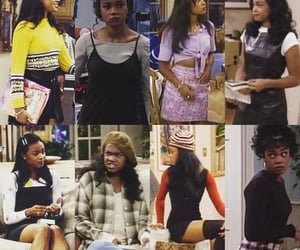 fresh prince of bel air, ashley banks, and outfit image