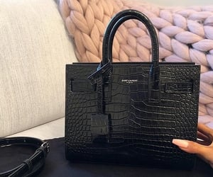bag, black, and luxury image