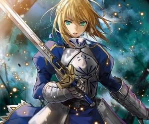 anime, badass, and Arturia image