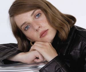 actress, blue eyes, and celebrities image