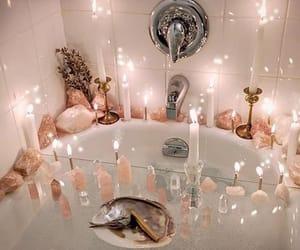 bath, relax, and bathtime image