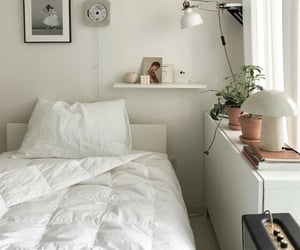 bedroom, bedroom decor, and decor image