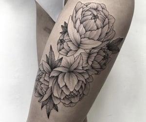 aesthetic, tattoo, and fiori image