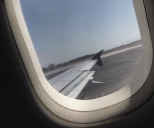 airplane and grunge image