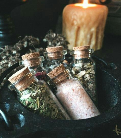witch, herbs, and witchcraft image