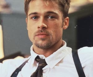 brad pitt, 90s, and actor image