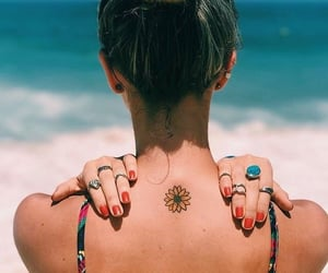 tattoo, body, and summer image