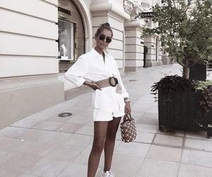 bag, hair, and fashion image