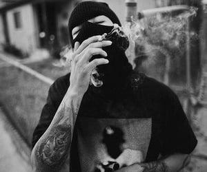smoke, tattoo, and swag image
