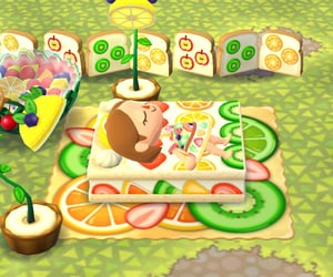 animal crossing, FRUiTS, and summer image