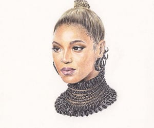 beyonce knowles, art, and queenb image